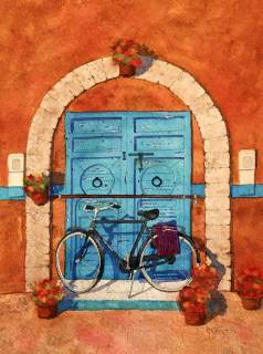 Essaouira, Blue Door - Marcia Smith