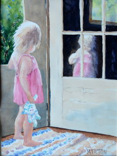 Mary Tilton - Reflections of a Two-Year-Old