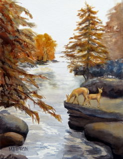 Mary Tilton - On The Montreal River